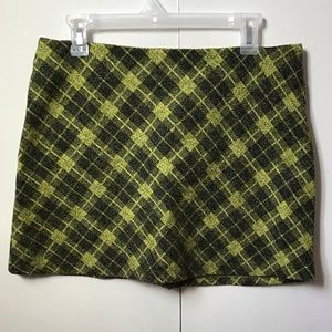 Clueless plaid mini skirt